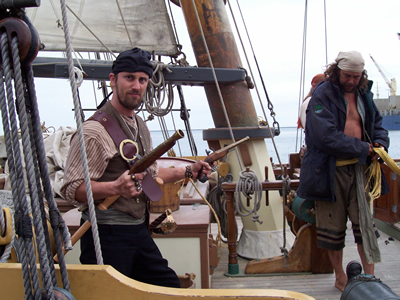 Brian Danner in The Pirating